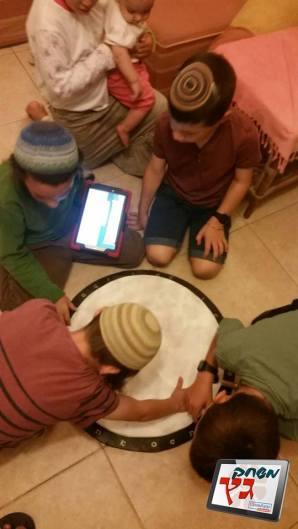 משחק גץ - כתב חידה פעילות טאבלטים