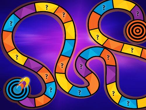 צילום מסך ממשחק המונופול במחול המשחקים